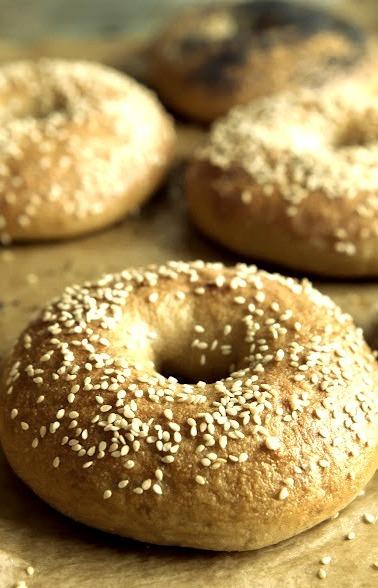Breakfast, Brown, Bread, Bagel Recipe, Boho
