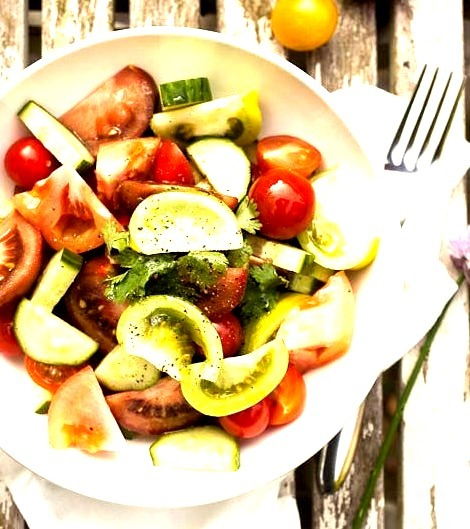 Tomato Salad (perfect For Weight Loss)