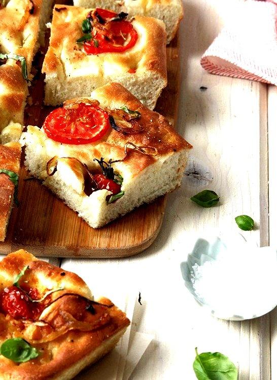 (via Herb and Tomato Focaccia Recipe- Style Sweet CA)