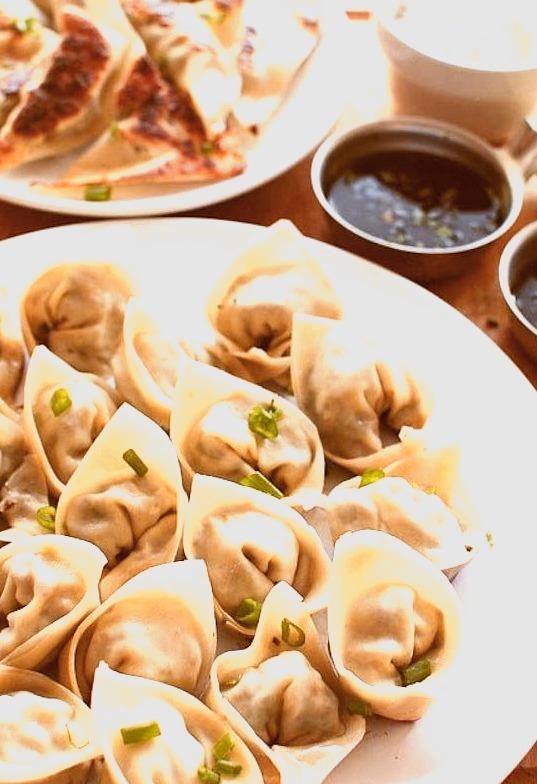 Recipe: Pan Fried Pork Dumplings