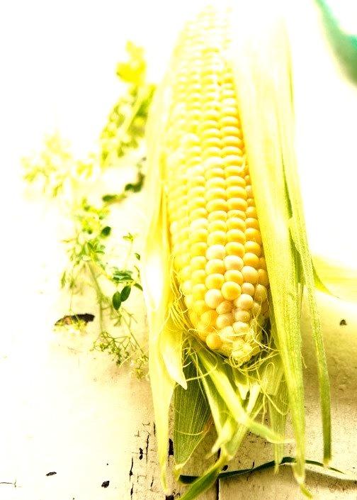 Fresh Corn via LaTartineGourmande.com