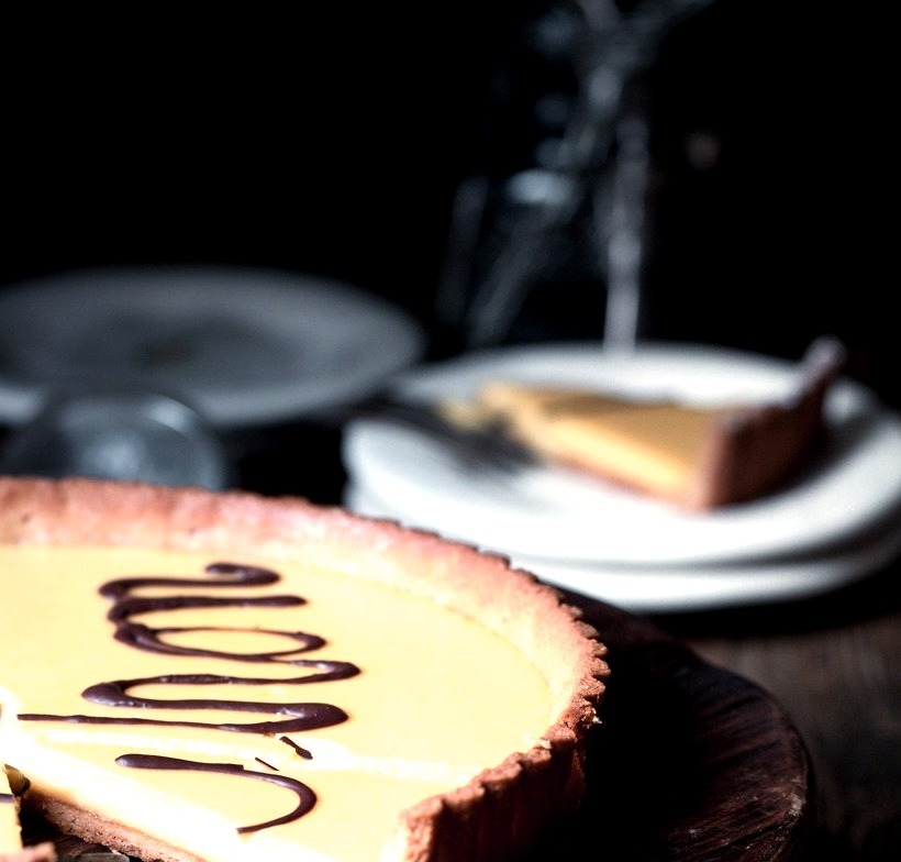 Citron Tart. Grain and dairy free for the book My Paleo Patisserie, coming this fall!theurbanposer.com