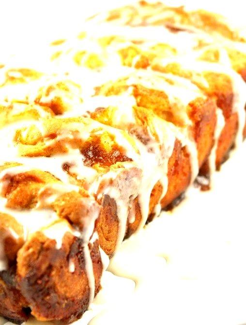 Pumpkin Pie Pull-Apart Bread