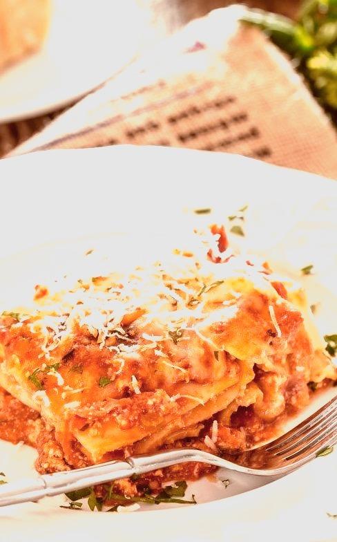 Chicken Lasagna alla Bolognese