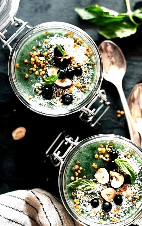 Superfood Chia Pudding The Awesome Green