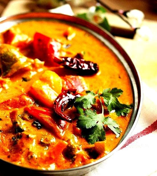 Vegan Tofu and Capsicum Curry